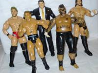 2007 Jakks Pacific WWE Wrestling Action Figures - Lot