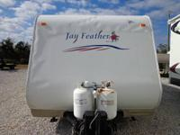 2007 JAYCO FEATHER LITE, W/ 1 SLIDE OUT BUMPER PULL 29