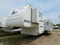Very nice, roomy Jay Flight rear kitchen travel trailer