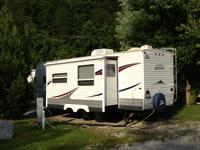 Camper is in Excelent shape. Used very little. Tires