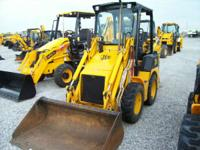 2007 JCB 1CX SIEVERS-HAMEL SKID STEER LOADER BACKHOE