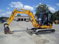 2007 JCB 8060 RTS 13 210#MINI-X CAB NO A/C 60HP.
