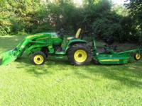 You are looking @ a 2007 JD 3720 with 300 CX loader.