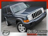 This 2007 Jeep Commander is one powerful SUV, packed