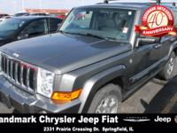 Our 2007 Commander is Jeep Classic to the extreme. It's