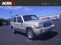 Used Jeep Commander, options include:  Multi-zone