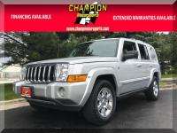 Options:  2007 Jeep Commander Limited 4Wd 4Dr|Champion