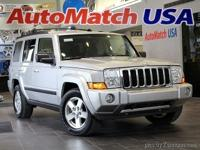 2007 Jeep Commander Sport Bright Silver Metallic
