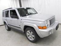 2007 Jeep Commander Sport Silver Recent Arrival!  Every