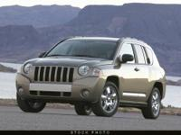 This 2007 Jeep Compass 4dr 4WD 4dr Limited 4x4 SUV