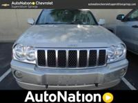 This 2007 Jeep Grand Cherokee Overland is offered