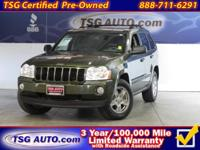 FRESH ARRIVAL FOLKS! THIS 2007 JEEP GRAND CHEROKEE HAS