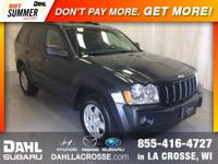 2007 Jeep Grand Cherokee Laredo 4WD Clean CARFAX. Good