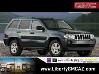 Clean CARFAX. Gray 2007 Jeep Grand Cherokee Limited 4WD
