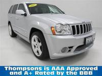 UNDER 29,000 MILES!...........2007 Jeep Grand Cherokee