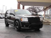 6.1 HEMI V8, AWD, BLACK SRT WHEELS, NAVIGATION, MOON