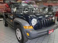 >>>2007 JEEP LIBERTY 4WD ALLOY WHEELS FLEXIBLE FINANCE