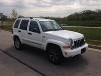 Options:  2007 Jeep Liberty Limited|White|*Alloy