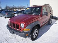 This 2007 Jeep Liberty is a compact SUV that comes in