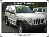 Options:  2007 Jeep Liberty Clean Auto Check. The Jeep