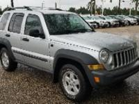 Bright Silver Metallic Clearcoat 2007 Jeep Liberty