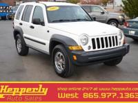 CARFAX One-Owner, New Tires,2007 Jeep Liberty Sport,