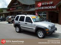 This 2007 Jeep Liberty has a clean CARFAX and is a