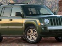 Options:  2007 Jeep Patriot Limited|Black/|V4 2.4L