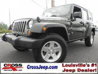 Unlimited 4 Door RUBICON!! One Owner! Very Clean! Auto