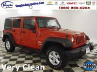 Wrangler Unlimited X, 3.8L V6 SMPI, 4-Speed Automatic