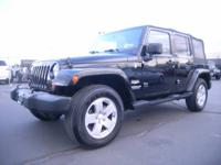 Jeep Wrangler Unlimited Sahara 4D with V6, 3.8 Liter