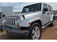 2007 Jeep Wrangler 4dr 4x4 Unlimited Sahara Unlimited