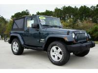 Description 2007 JEEP Wrangler Air Conditioning, Cruise