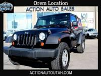 ***THIS CAR IS LOCATED IN OREM*** 2007 Jeep Wrangler X