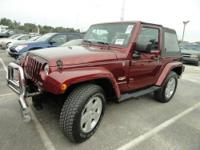 The 2007 Jeep Wrangler has a stiff ride, offers about