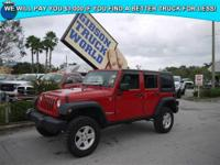 E SPECIALIZE IN QUALITY PRE OWNED JEEP WRANGLERS ! ALL