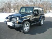 2007 Jeep Wrangler Sahara Edition Black with Grey