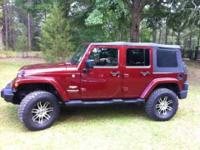 2007 Jeep Wrangler Sahara Edition SUV This amazing Jeep