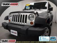 The 2007 Jeep Wrangler offers the best of both worlds.