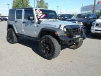 Check out this gently-used 2007 Jeep Wrangler we