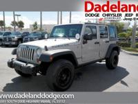 Looking for a clean, well-cared for 2007 Jeep Wrangler?