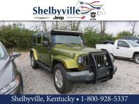 CARFAX One-Owner. Clean CARFAX. 2007 Jeep Wrangler