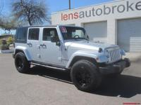 Options:  2007 Jeep Wrangler Unlimited Sahara||Vin: