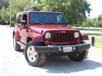 Our 2007 Jeep Wrangler Sahara can't be beat for