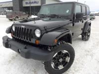 Options:  2007 Jeep Wrangler Unlimited Sahara|Easy