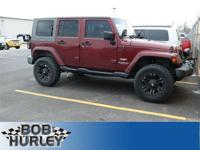 Jeep Wrangler Unlimited Sahara Red 4WDRecent