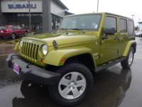 Options:  2007 Jeep Wrangler Unlimited