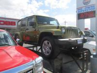 Options:  2007 Jeep Wrangler Unlimited Sahara|Miles: