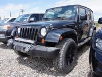 Priced below KBB Fair Purchase Price! Black 2007 Jeep