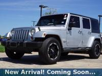 2007 Jeep Wrangler Unlimited Sahara in Bright Silver